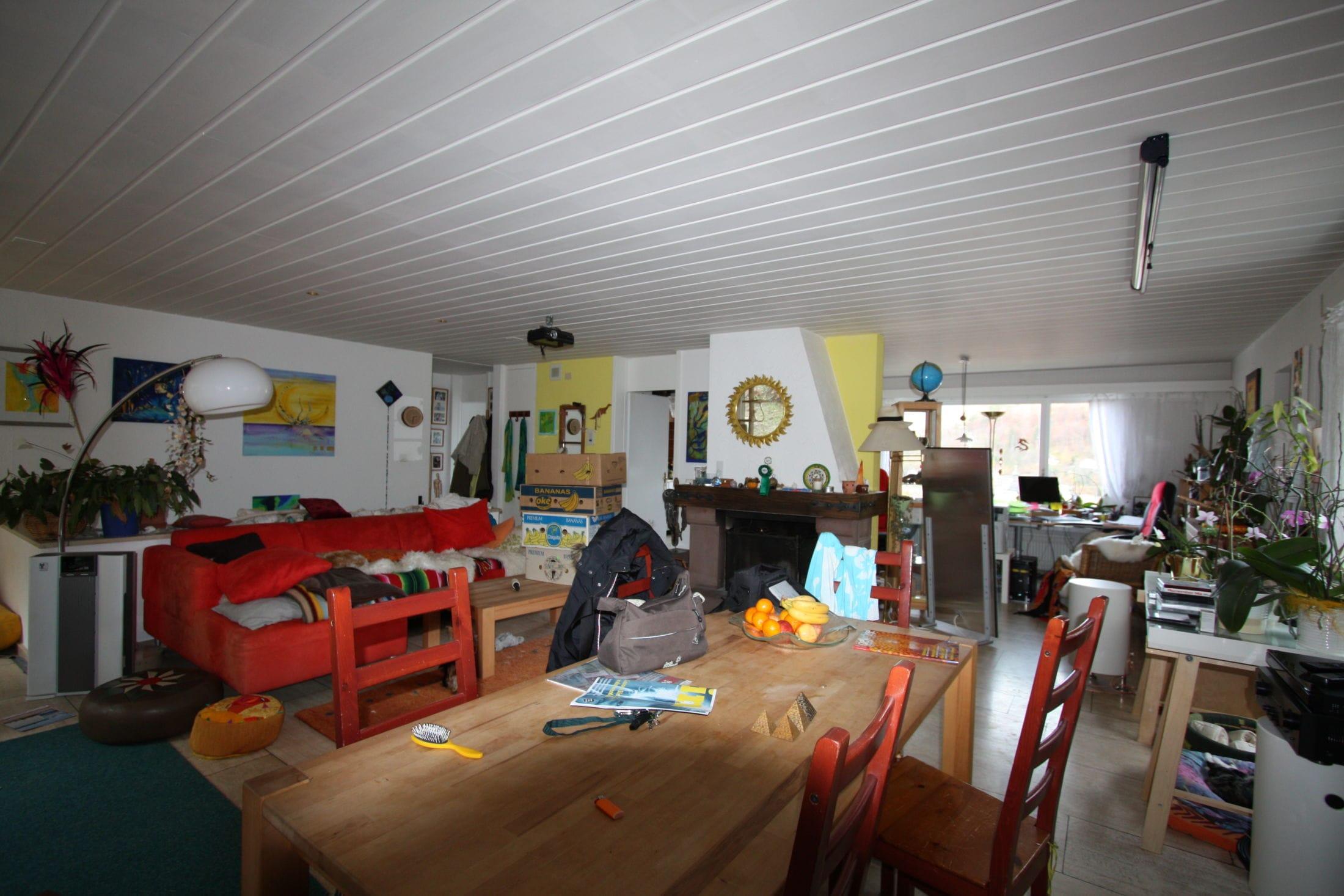 2Vorher Wohnzimmer Büchle Chur